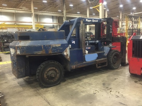 80 000 100 000 Lb Bristol Rigger Special Fork Lift Model 80 100 Machinery For Sale